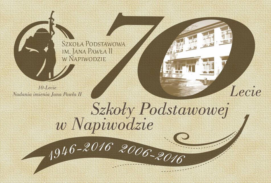 Świętujemy 70-lecie Szkoły Podstawowej w Napiwodzie!